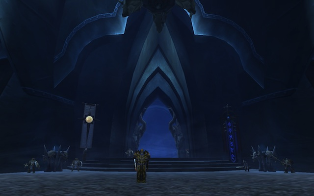 In the heart of Icecrown Citadel...
