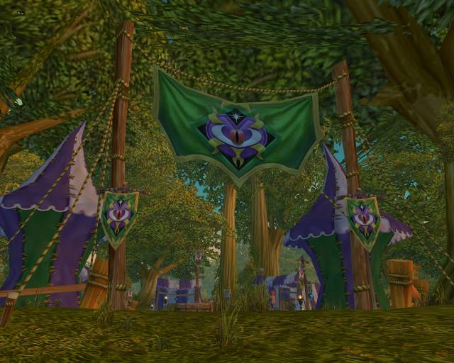 The Darkmoon Faire in Elwynn Forest