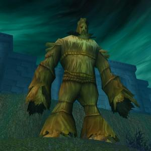 The mysterious Wickerman stands outside the Ruins of Lordaeron