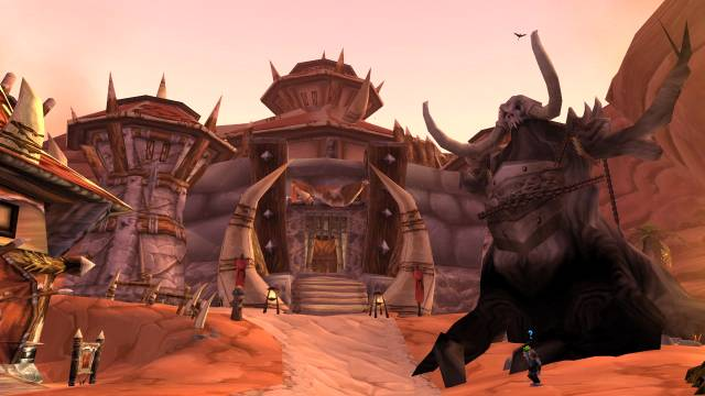 Grommash Hold, Warchief Thrall's seat of power in Orgrimmar