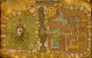 Silvermoon City Map