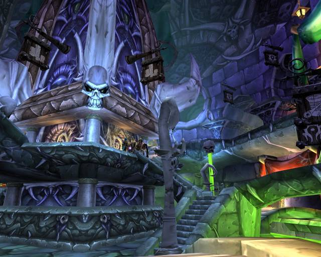 The dark and creepy Undercity lies beneath the ancient capital of Lordaeron