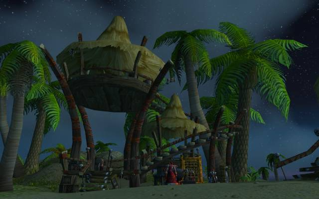 Yojamba Island, outpost of the Zandalar Tribe